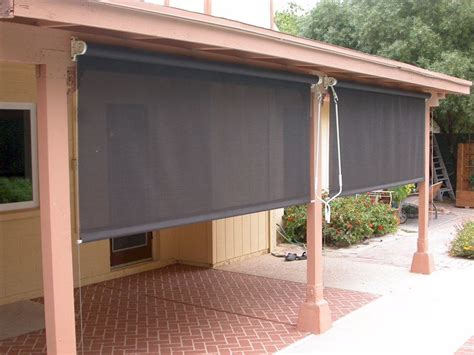 Cheap Patio Blinds - patio roll up shades walmart for price custom window
