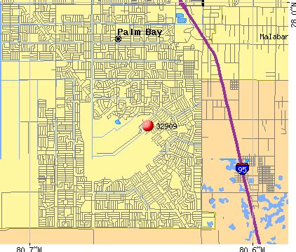 palm bay florida map image search results