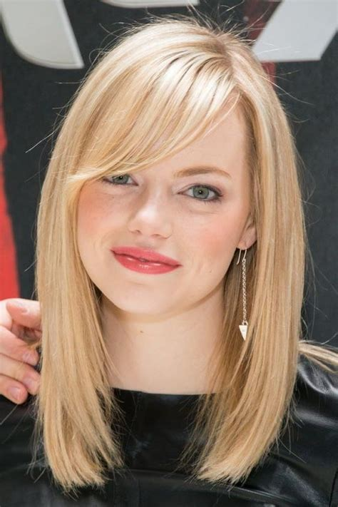 short hairstyles with no bangs 15 best of long hairstyles round face no bangs