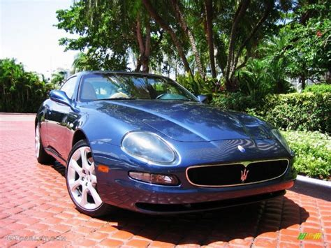 metallic maserati 2003 nettuno metallic blue maserati coupe