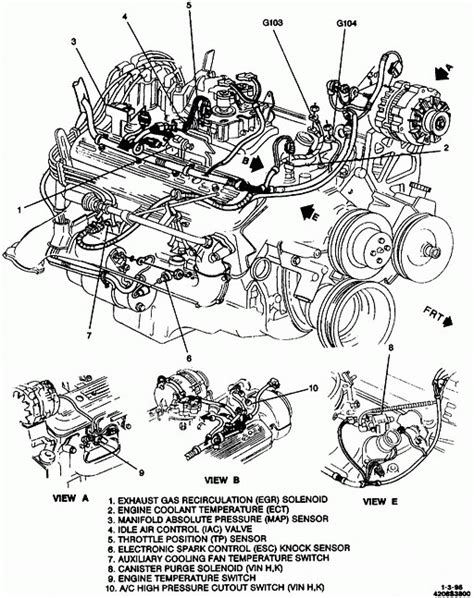 2001 chevrolet tahoe engine diagram chevrolet automotive