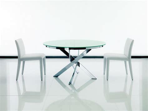 calligaris tavoli cristallo tavolo di cristallo allungabile homehome