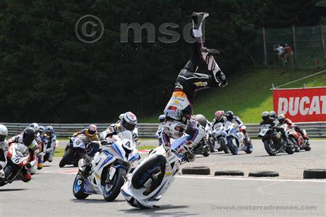 Motorradrennen Unfall Heute by Www Motorradrennen