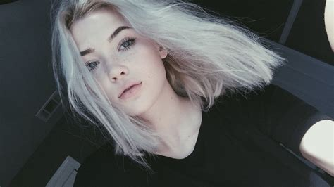 white hair how to get white hair at home okaysage youtube