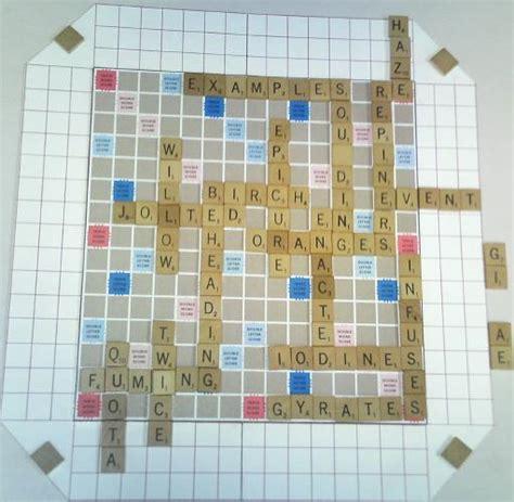scrabble ye scrabble boards scrabble ii world s best scrabble boards