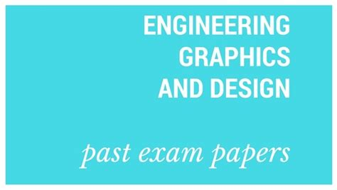 engineering graphics design grade 10 nsc old exam papers engineering graphics and design