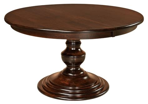 amish pedestal dining table modern traditional solid