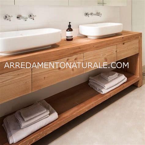 mobile bagno legno mobile bagno in legno massello mobilia la tua casa