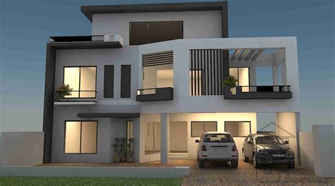 Housedesigners by 12 Marla House Plan Gharplans Pk