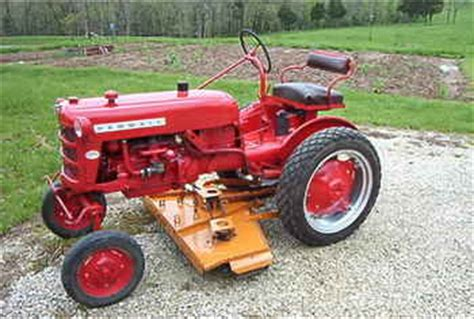 Used Farm Tractors For Sale Farmall Cub Amp Mower 2008 05