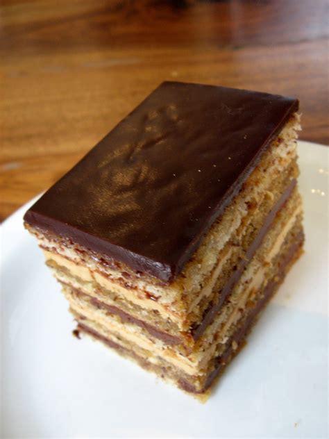 french desserts opera cake