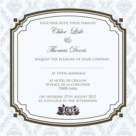 contemporary wedding invitation wording sles wedding invitations wording wedding invitation ideas