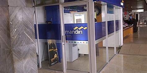 Mesin Atm Mandiri bank mandiri klaim mesin atm telah dipersenjatai alat anti