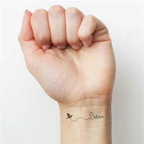 small believe tattoos small font wrist products i