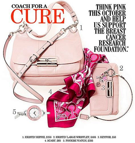 Coach For Breast Cancer Awareness Month the best of pink products breast cancer awareness month