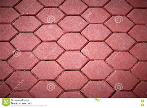 Strã Fliesen by Rot Das Fliesen Pflastert Stockfoto Bild 78532450