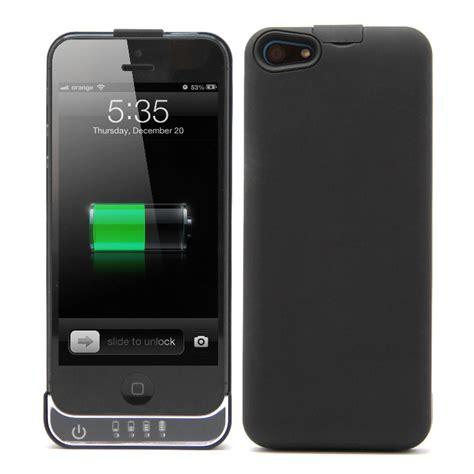 fundas bateria iphone 5 funda bater 237 a negra para iphone 5 pccomponentes