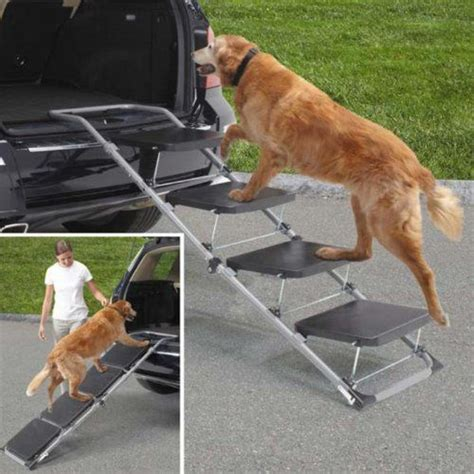 steps for car pet r for car truck and suv ideal for aging dogs or those with hip problems or