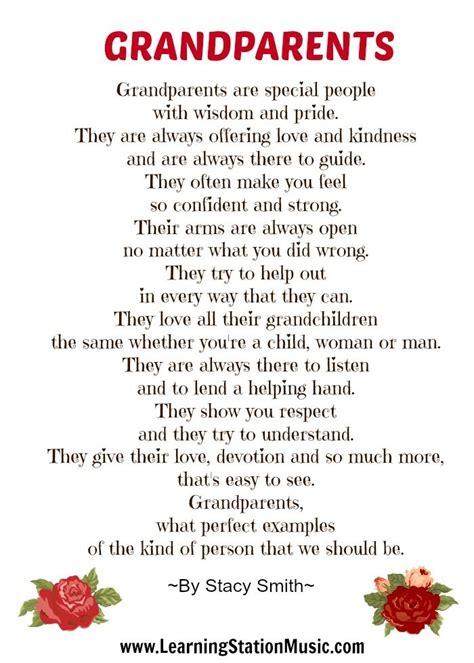 appreciation letter to grandparents best 25 grandmother poem ideas on poems of