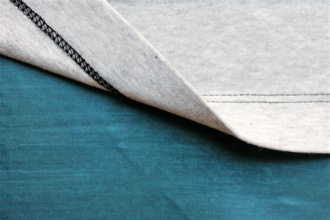 Hem Manvy how to hem knit fabric five different ways