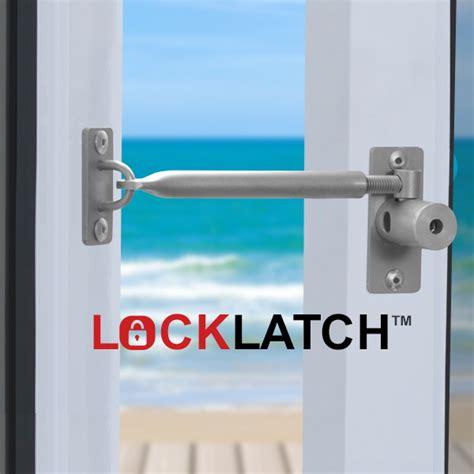 locklatch secure a window use as a door latch