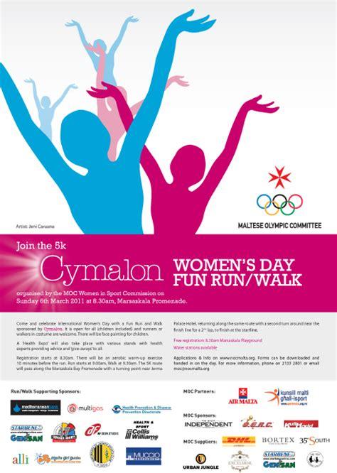 s day marathon the moc s cymalon women s day run walk