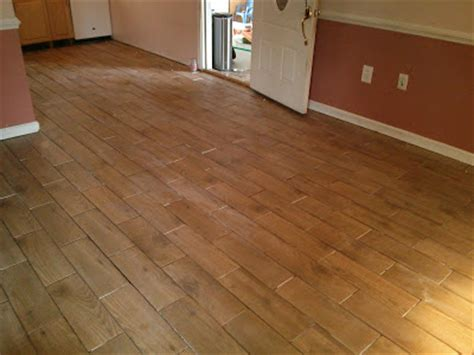 install wood look tile no grout floor installation photos wood look porcelain tile in