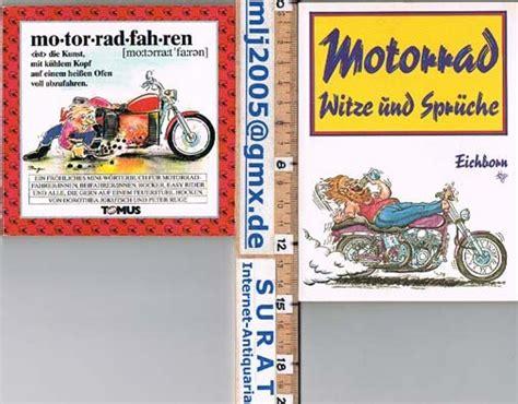 Motorrad Spr Che Witzig by Isbn 3821820454 Quot Motorrad Witze Und Spr 252 Che Quot Neu