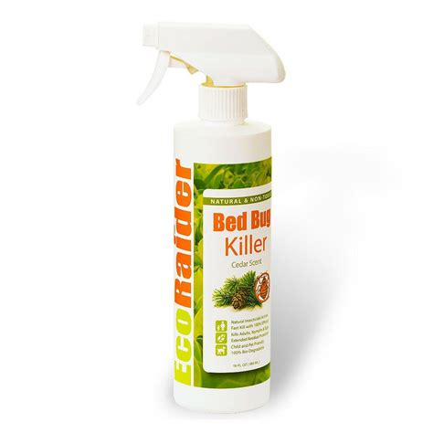 Ecoraider 16 Oz Natural And Non Toxic Bed Bug Killer