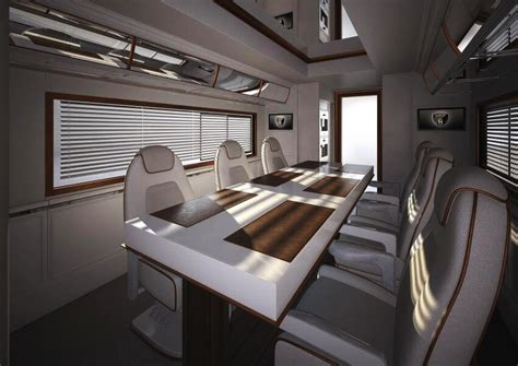Long Kitchen Design most expensive motor home in the world elemment palazzo