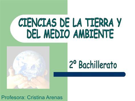 ciencias de la tierra y medioambientales profesora ciencias de la tierra y medio ambiente