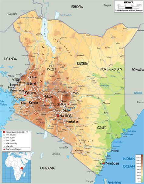 map of kenya africa map of kenya africa