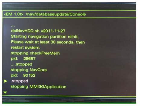 Audi A6 Mmi Update by How To Update Audi Mmi Map Auto Repair Technician Home