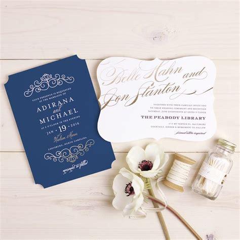 Wedding Card 2017 by 2017 Wedding Invitation Trends You Need To Modwedding