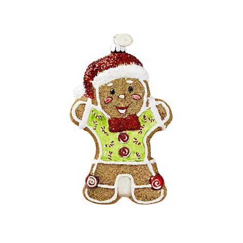 3 quot gingerbread man christmas ornament