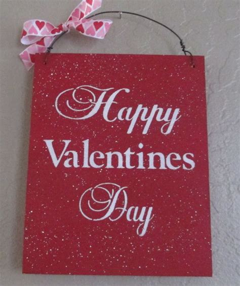 valentines sign happy valentines day sign wooden sign