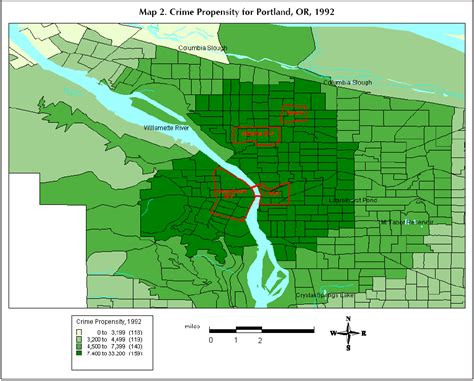 crime map portland oregon my for geology with dr rood lab 2 maps