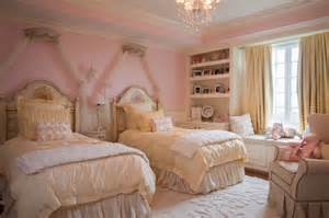 Girl pink princess room traditional kids boston by mdk design