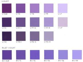 purple color chart purple pantone color chart