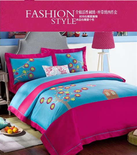 colorful comforter sets king blue pink colorful designer brand bedding comforter