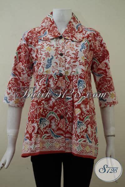 Harga Baju Lebaran Jual Blus Batik Lebaran Model Mewah Harga Murah