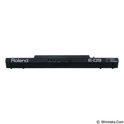 Keyboard Roland E 09i 100 Baru Dan Garansi 1th jual roland keyboard arranger e 09i murah bhinneka