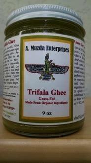 Ayurveda Ghee Detox by Triphala Ghee 9oz Ayurvedic Herbs Products