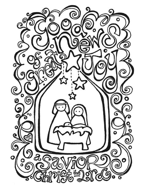 Search Results For Color Page Nativity Scene Calendar 2015 Coloring Pages Nativity Free Printable