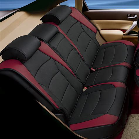 car seats for trucks car suv truck pu leather seat cushion covers rear bench