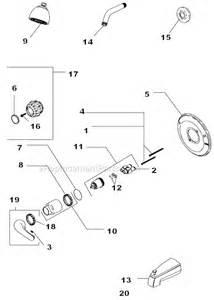 Glacier Kitchen Faucet Delta Tub Shower Parts Replacement Kits Amp Accessories