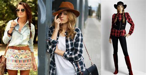 imagenes ropa vaquera dama tendencias de moda el estilo country