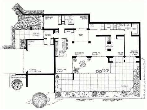 eplans contemporary modern house plan passive solar
