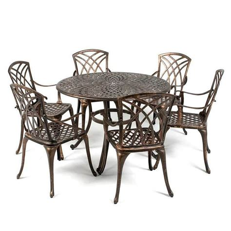 metal patio dining table 1000 ideas about antique dining tables on