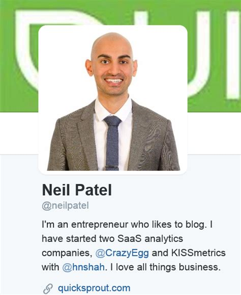 Neil Patel Mba Marketing by 12 Business And Marketing Pros To Follow On Live